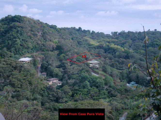 View of Rancho Manuel Antonio from Casa Pura Vista, our friends home.